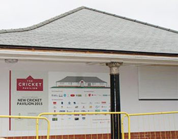 cricket pavilion roof