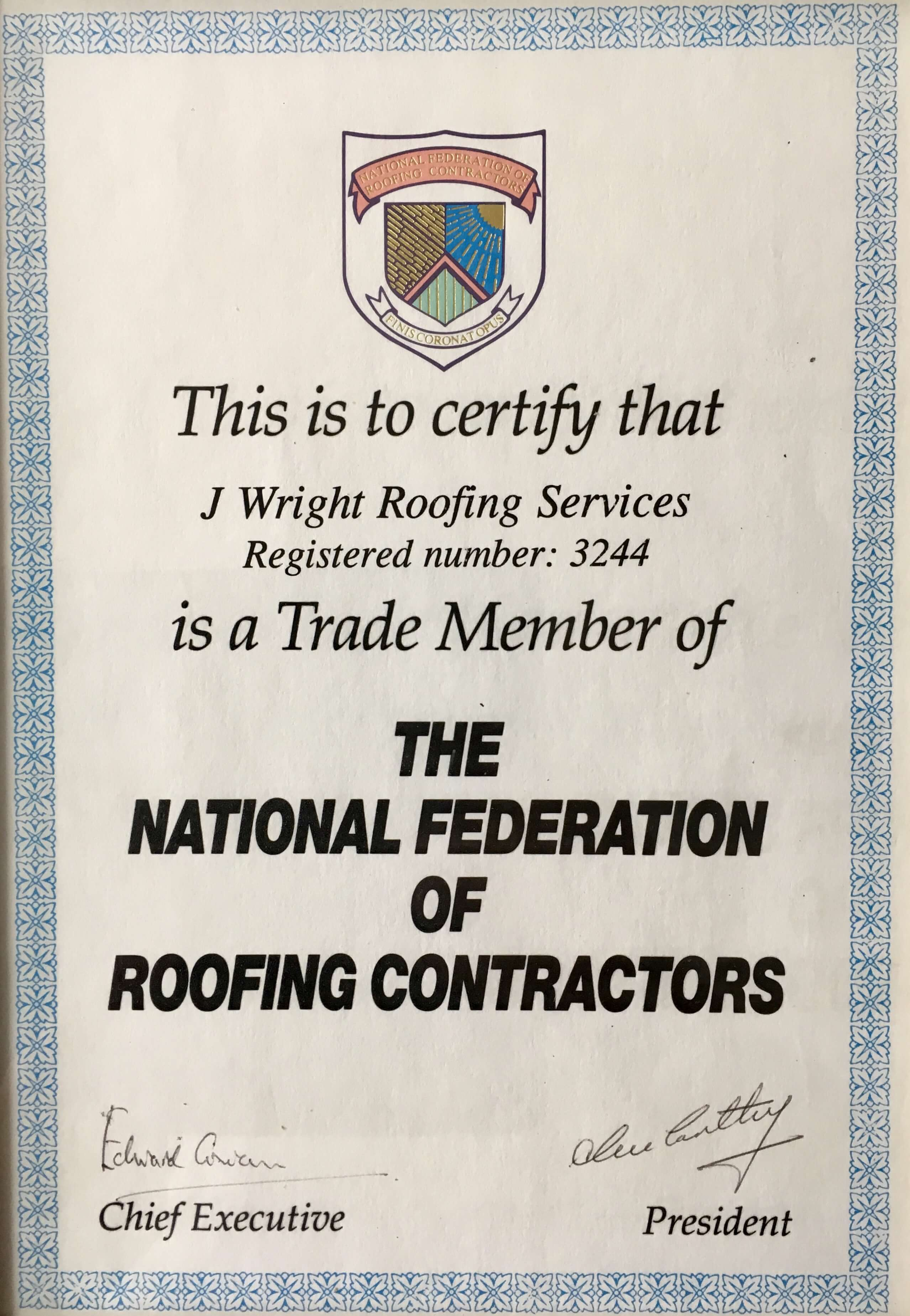 About Us J Wright Roofing